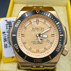 FIRM PRICE-New Invicta Automatic Pro Driver watch